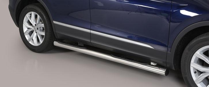 Misutonida kanalbeskytter m/trinn, Ø 76, VW Tiguan mod. 2016->