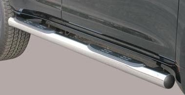 Misutonida kanalbeskytter m/trinn, Ø 76mm, Toyota Land Cruiser 150, 3-dørs, mod. 09->
