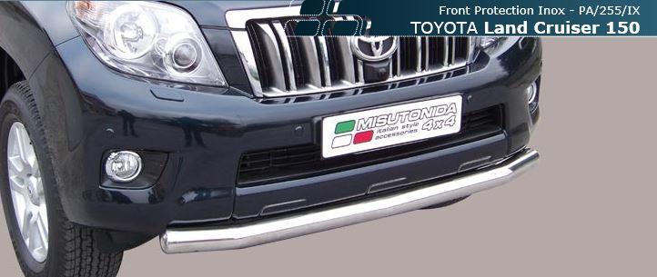 Misutonida frontspoiler, Ø 76mm, Toyota Land Cruiser 150, 5-dørs, mod. 09->