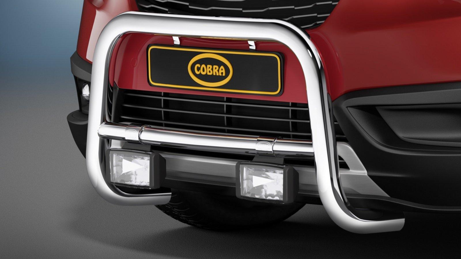 Cobra EU-kufanger, Ø 60 mm, Citroën C3  Aircross, mod. 2018-> / Opel Crossland X mod. 2017->