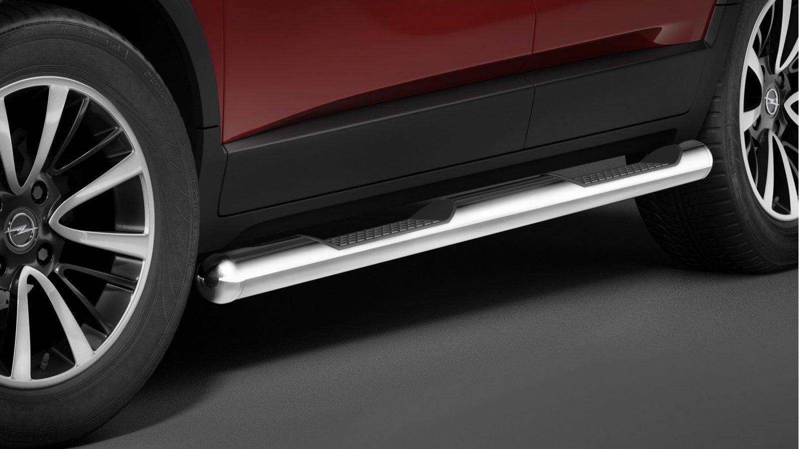 Cobra kanalbeskyttere m/trinn Ø 80mm, Opel Crossland X, mod. 2017->