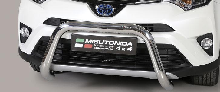 Misutonida kufanger, Ø 76, Toyota Rav 4-Hybrid mod. 16->18
