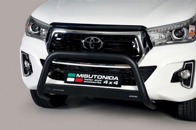 Misutonida kufanger, sort, Ø 63,Toyota Hi Lux mod. 2016->