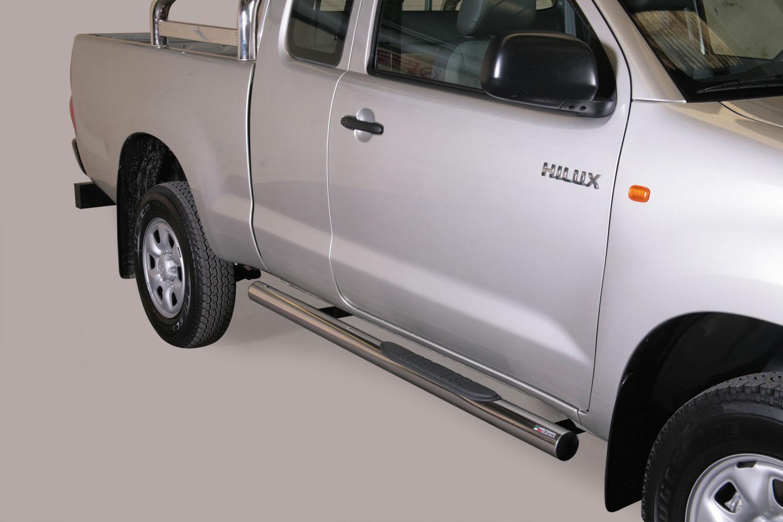 Kanalbeskyttere m/trinn, TOYOTA HiLux extra cab mod. 06->15