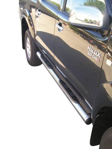 Kanalbeskyttere m/trinn, TOYOTA HiLux double cab mod. 06->15