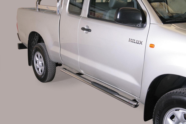 Stigtrinn, ovale, TOYOTA HiLux extra cab mod. 06->15
