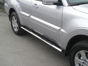 Stigtrinn, ovale, MITSUBISHI Pajero 5 doors 07>