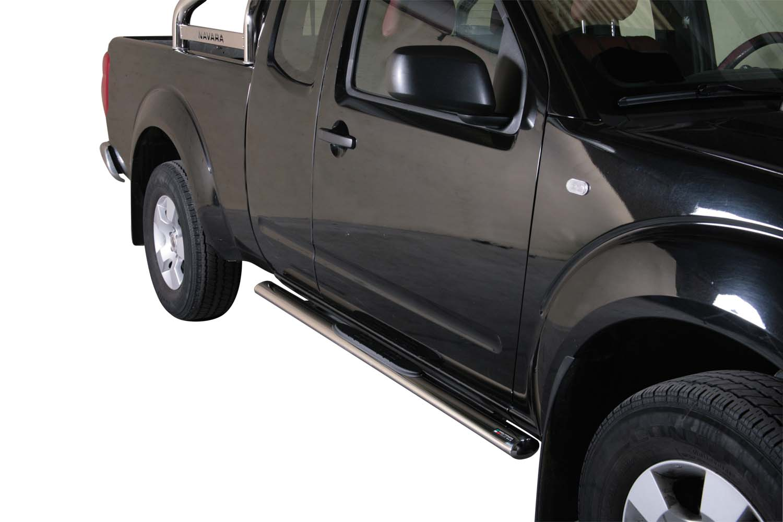 Stigtrinn, ovale, NISSAN Pick Up Navara King Cab 05>