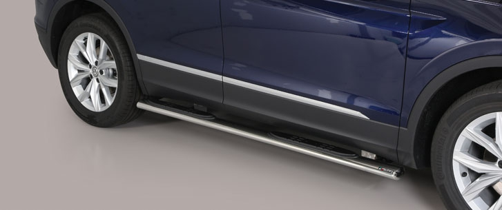 Misutonida kanalbeskytter m/trinn, oval, VW Tiguan mod. 2016->