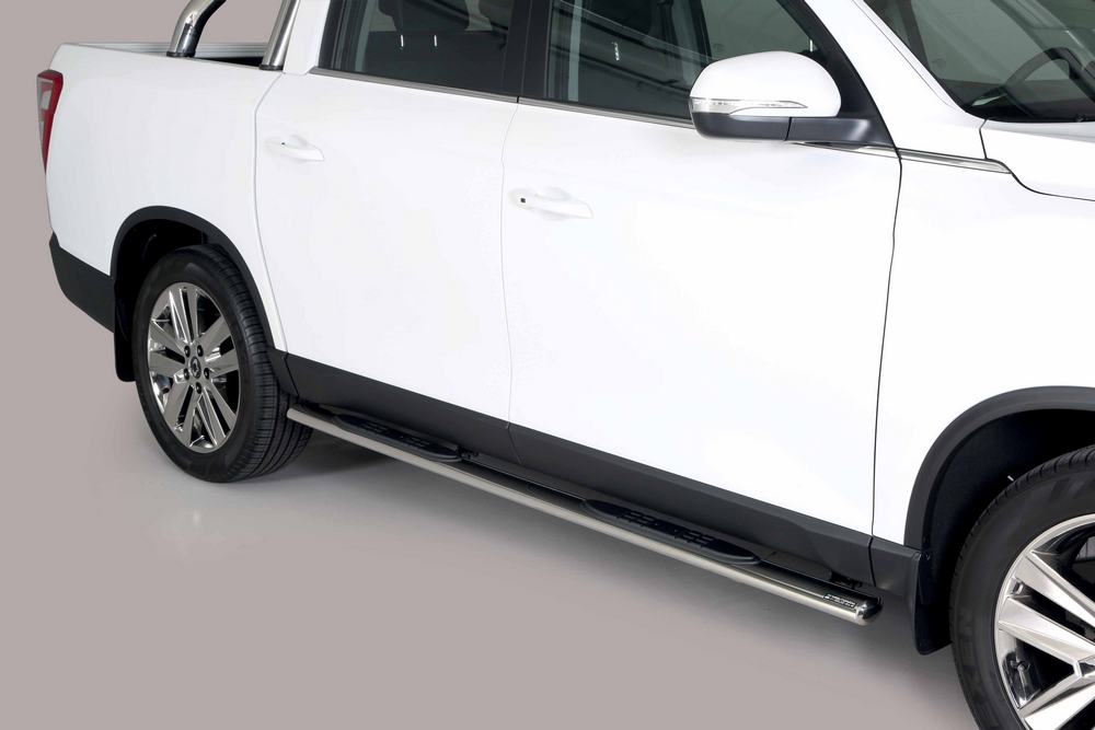 Stigtrinn, ovale, SSANGYONG Musso 18>