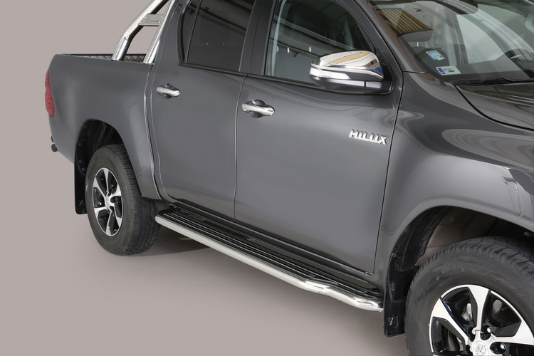 Misutonida stigtrinn, lange, Ø 50mm, Toyota Hi Lux DC mod. 2016->