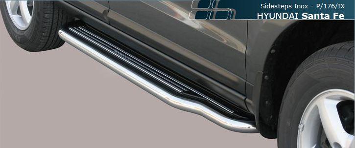 Misutonida stigtrinn,  Ø 50mm Hyundai Santa Fe mod 2006->2010