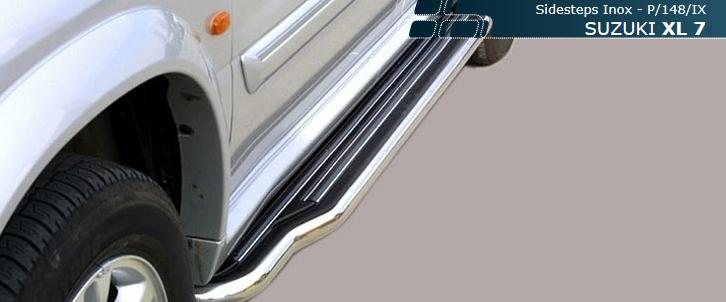 Misutonida stigtrinn, Suzuki XL7 mod. 2005->, ekstra lang
