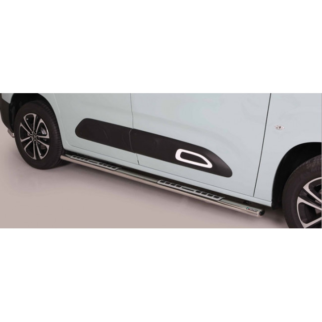 Misutonida kanalbeskytter m/trinn, Citroën Berlingo MWB, mod. 2018->