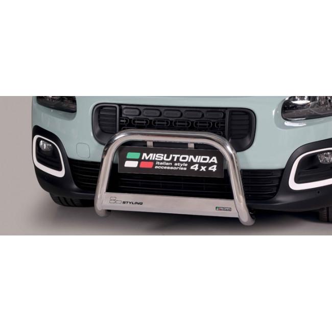 Misutonida EU-kufanger Ø63 mm, Citroën Berlingo MWB, mod. 2018->