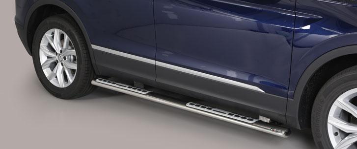 Misutonida stigtrinn, design, VW Tiguan mod. 2016->
