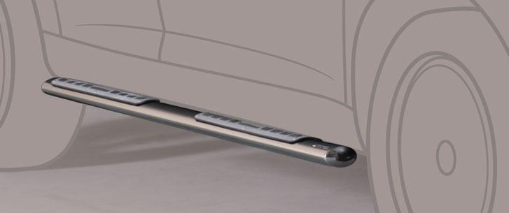 Misutonida stigtrinn design, oval, VW Touareg, mod. 2002->2007