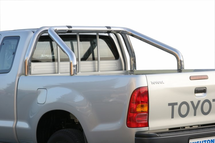 Sort veltebøyle, Ø 76, Toyota HiLux Extra Cab 2006->2015