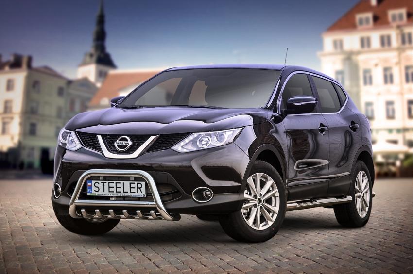 EU-Kufanger Ø 60mm, m/underkjørseksjon (rør), Nissan Qashqai mod. 2013->2017