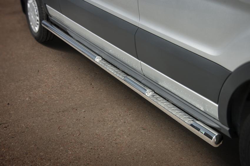 Kanalbeskyttere Ø 76mm, m/trinn, Ford Transit, mod. 2014->