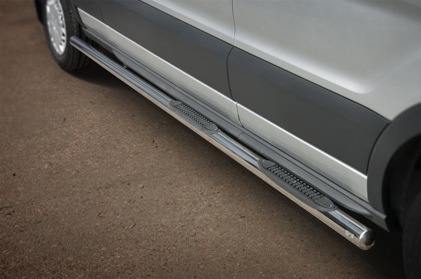 Kanalbeskyttere Ø 70mm, m/trinn i plast, Ford Transit, mod. 2014->