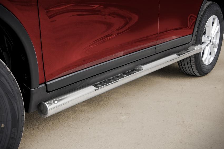 Kanalbeskytter Ø76 m/trinn, Nissan X-TRAIL mod. 2014->2017