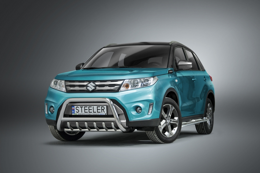 EU-Kufanger Ø 60mm, tverrør Ø 48mm, underkjørseksjon (rør), Suzuki Vitara mod. 2015->