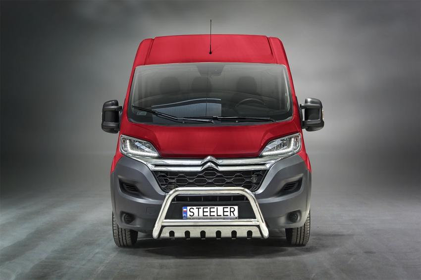 EU-Kufanger Ø 70mm/Ø 60mm, underkjørseksjon (blekkplate), Citroën Jumper mod. 2006-2014-2016