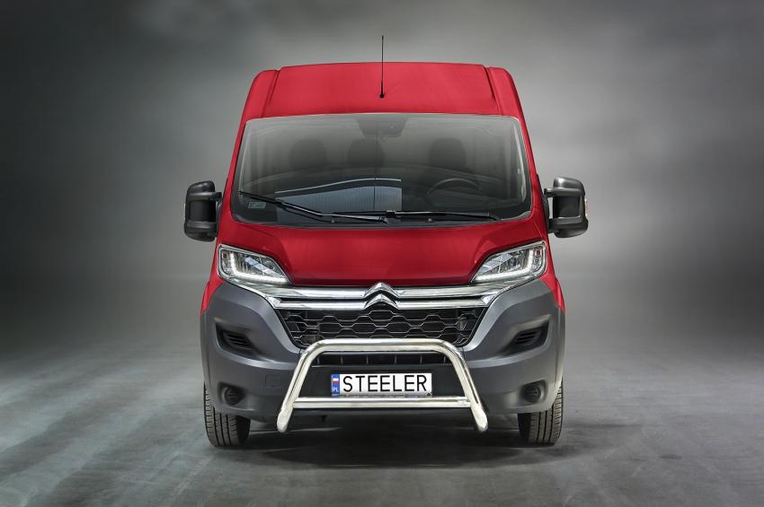 EU-Kufanger Ø 70mm, m/tverrør Ø 60mm, Citroën Jumper mod. 2006-2014-2016