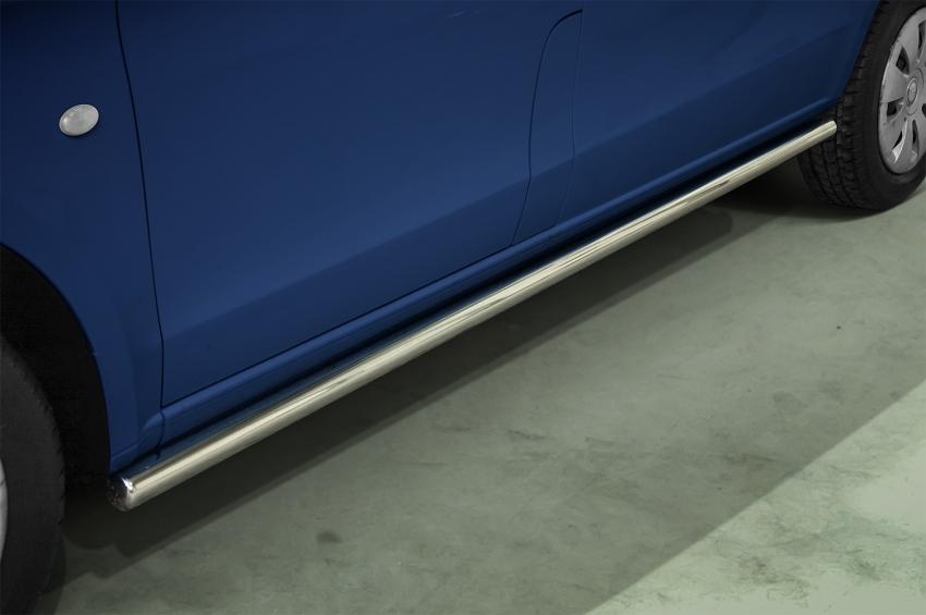 Kanalbeskyttere Ø 60mm, Mercedes V-Klasse SWB, mod. 2014->