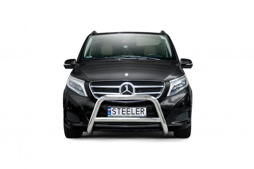 EU-Kufanger Ø 70mm, tverrrør Ø 60mm, Mercedes V-Klasse, mod. 2014->