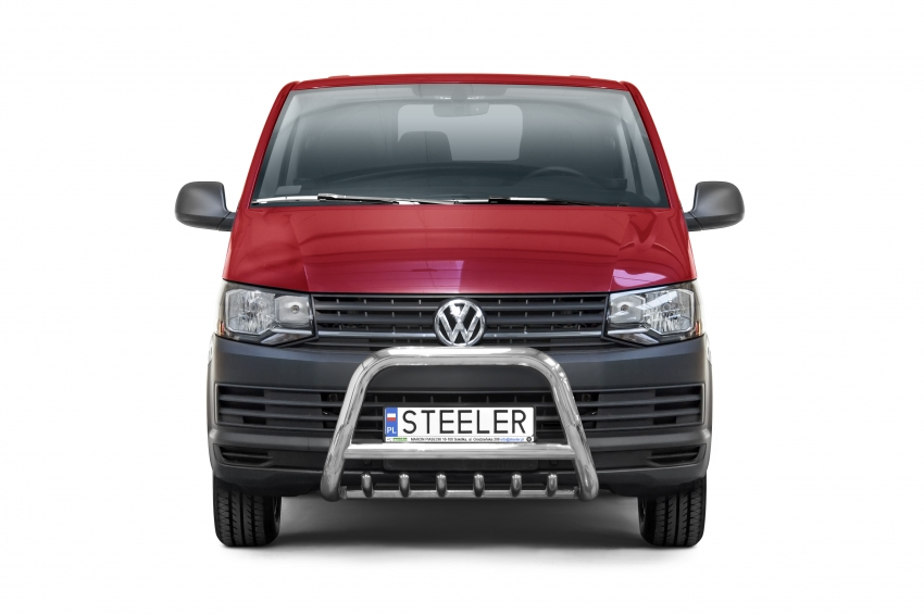 EU-Kufanger Ø 70mm, m/underkjørseksjon (rør), VW T6 mod. 2015->