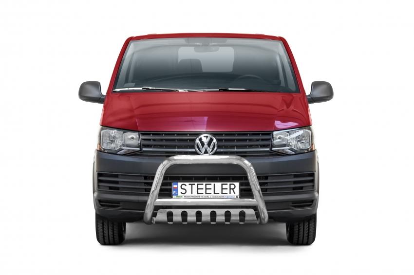 EU-Kufanger Ø 70mm, m/underkjørseksjon (plate), VW T6 mod. 2015->