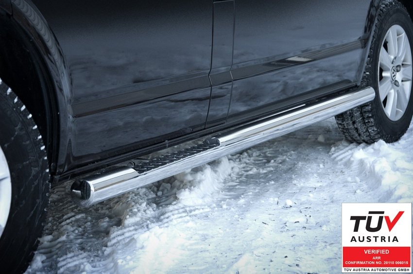 Kanalbeskytter Ø 76mm, m/trinn, VW T5 DC mod. 2003->2015