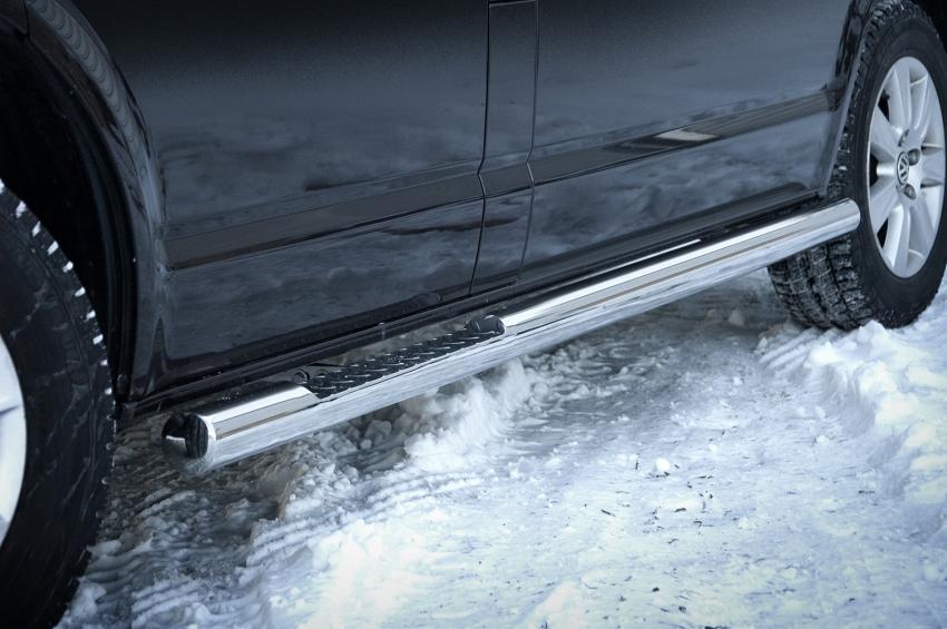 Kanalbeskytter Ø 76mm, m/trinn, VW T6 LWB mod. 2015->
