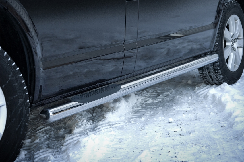 Kanalbeskytter Ø 70mm, m/trinn i plast, VW T6 SWB mod. 2015->