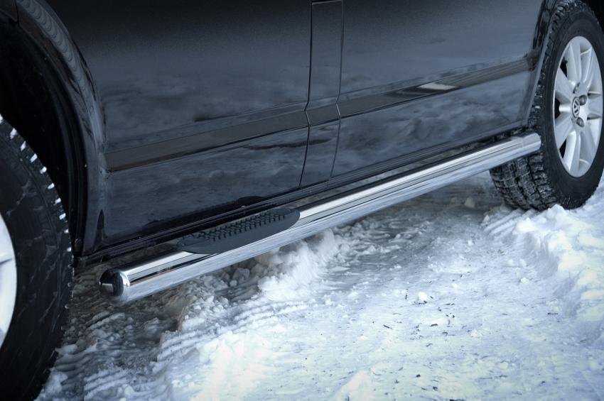Kanalbeskytter Ø 70mm, m/trinn i plast, VW T6 LWB mod. 2015->