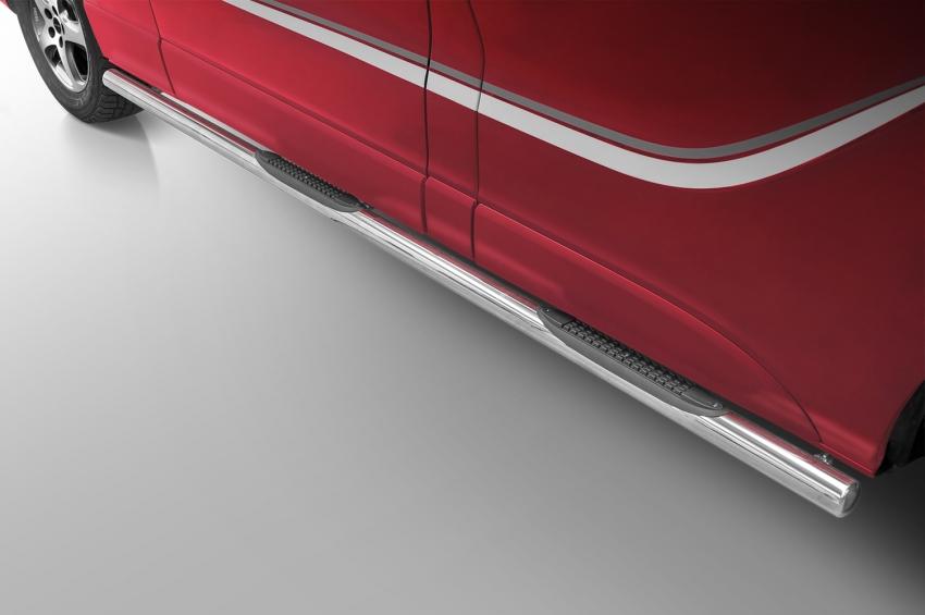 Kanalbeskyttere Ø 70mm, m/trinn i plast, Opel Vivaro mod. 2014->