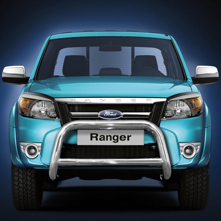 EU-Kufanger Ø 70mm, m/tverrør Ø 60mm, Ford Ranger mod. 2007->2012