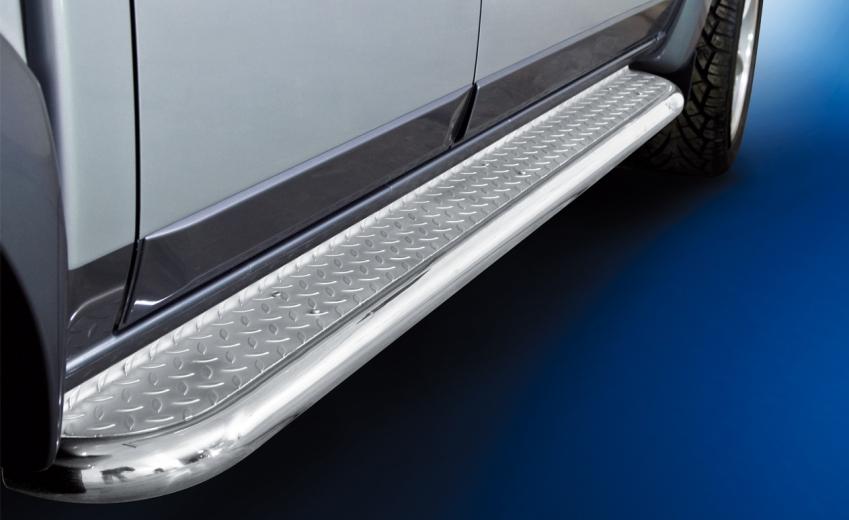 Stigtrinn Ø 60mm, m/metallplate,  Ford Ranger mod. 2012->2016