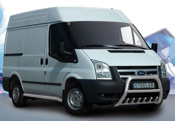 EU-Kufanger Ø 70mm/Ø 60mm, underkjørseksjon (rør), Ford Transit, mod. 2006->2014