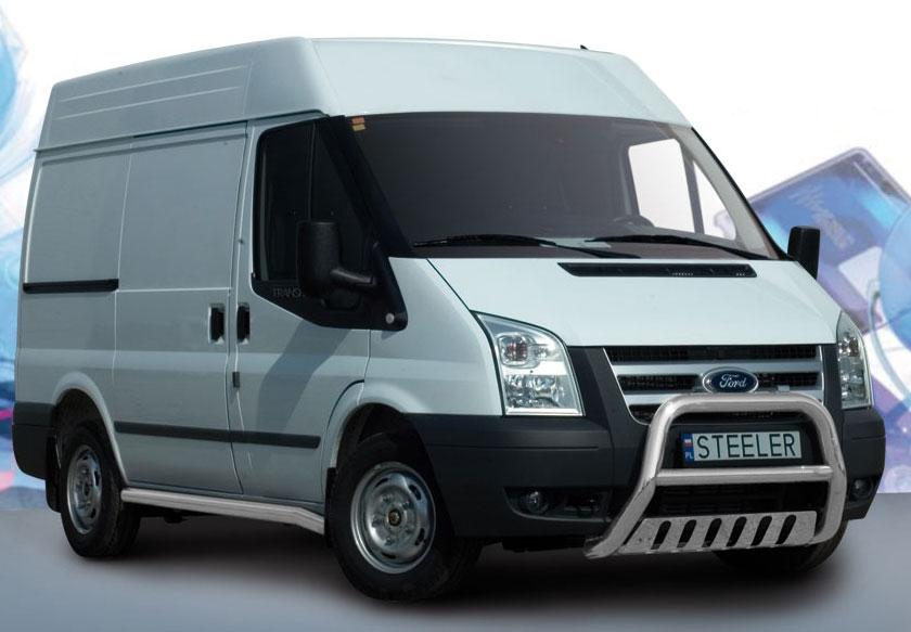 EU-Kufanger Ø 70mm/Ø 60mm, underkjørseksjon (blekkplate), Ford Transit, mod. 2006->2014