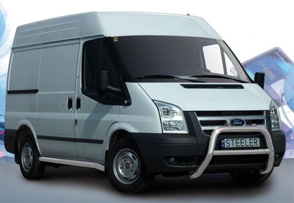 EU-Kufanger Ø 70mm, tverrrør /Ø 60mm, Ford Transit, mod. 2006->2014