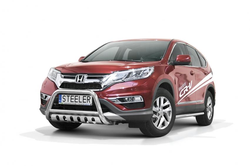EU-Kufanger Ø 60mm, tverrør Ø 48mm, underkjørseksjon (blekkplate), Honda CR-V mod. 2012->2016
