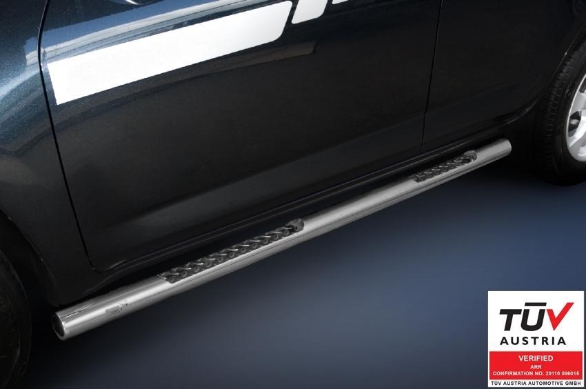 Kanalbeskytter Ø76 m/trinn, Hyundai IX35 mod. 2010->