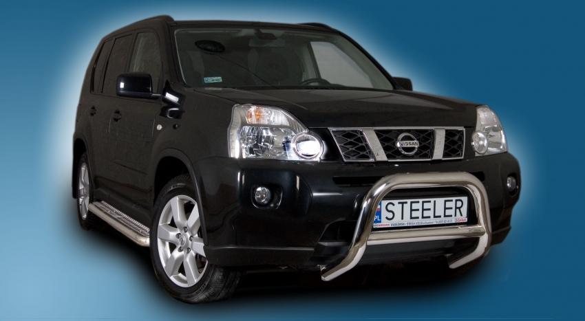 EU-Kufanger Ø 70mm, m/tverrør Ø 60mm, Nissan X-TRAIL mod. 2010->2014