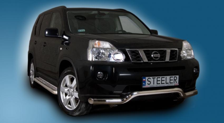 Spoilerrør, Ø 70mm, Nissan X-TRAIL mod. 2010->2014