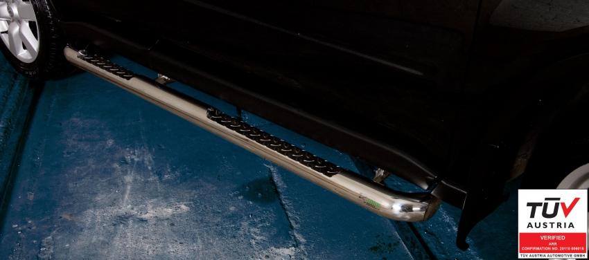 Kanalbeskytter Ø76 m/trinn, Nissan X-TRAIL mod. 2010->2014