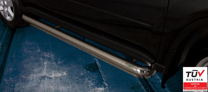 Kanalbeskyttere Ø 60mm, Nissan X-TRAIL, mod. 2010->2014