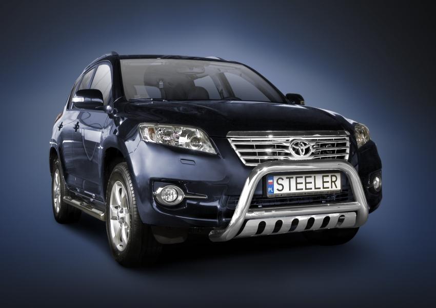 EU-Kufanger Ø 70mm/Ø 60mm, underkjørseksjon (blekkplate), Toyota RAV4, mod. 2010->2013